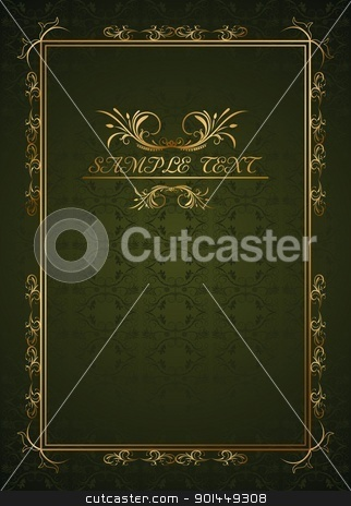 Illustration holiday background stock vector clipart, Illustration holiday background card for design - vector by -=Mad Dog=-