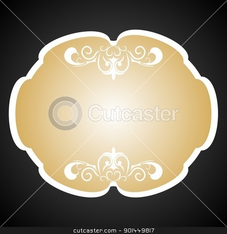 Royal background card for design stock vector clipart, Vector royal background card for design by -=Mad Dog=-
