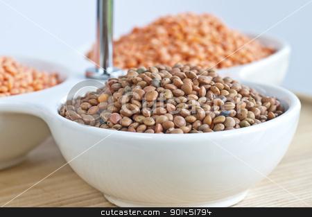 lentils stock photo, Lentils by Hans-Joachim Schneider