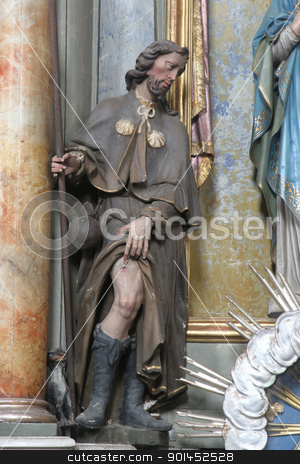 Saint Roch stock photo, Saint Roch by Zvonimir Atletic