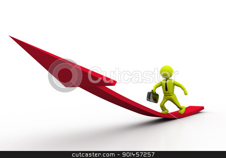 Way to success  stock photo, Way to success  by dileep