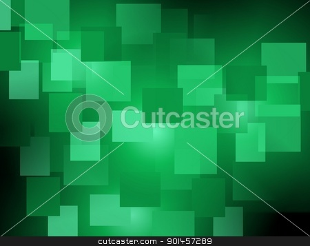 Green abstract background stock vector clipart, Green abstract background, elegant design vector illustration by radubalint