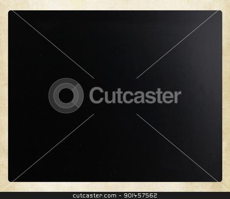 Blackboard / chalkboard texture. Empty blank black chalkboard. stock photo, Blackboard / chalkboard texture. Empty blank black chalkboard. by Nenov Brothers Images