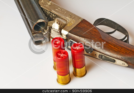 shotgun stock photo, shotgun by Hans-Joachim Schneider