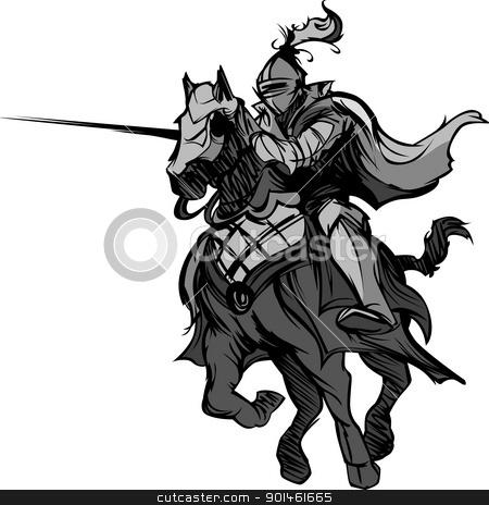 Логотип рыцарь