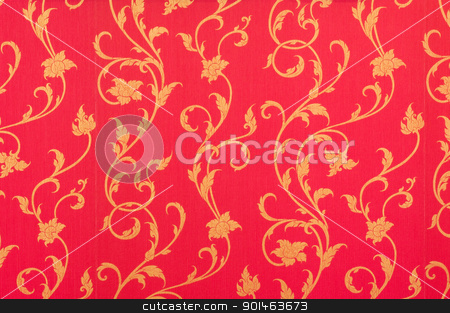 red wallpaper  stock photo, red wallpaper background by Komkrit Muangchan