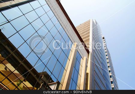 Architecture in Santiago de Chile	 stock photo, Modern Architecture in Santiago de Chile, Chile, South america. by Michael Osterrieder