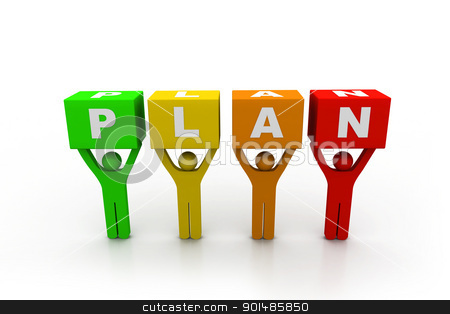 Plan concept	 stock photo, Plan concept	 by dileep