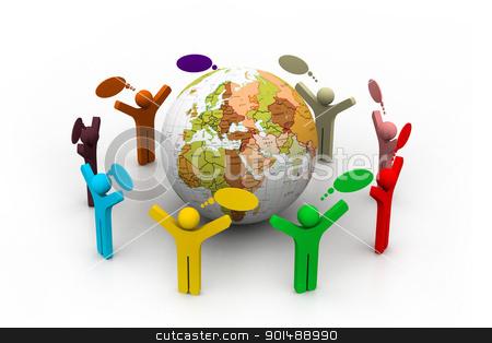 Global community stock photo, Global community by dileep