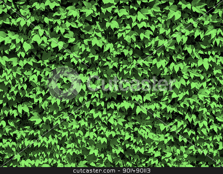 Dotty Green Leaves Background stock photo, Dotty Natural Green Leaves Wallpaper or Background  by Snap2Art