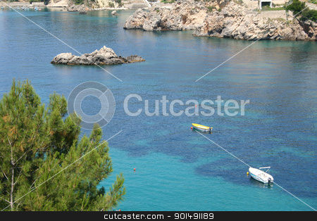 Greece. Corfu, Paleokastrica coast  stock photo, Greece. Corfu island. Paleokastrica coast  by Morozova Oxana