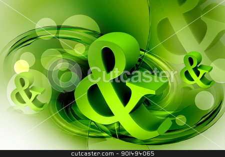 Digital illustration of business symbol in color background	 stock photo, Digital illustration of business symbol in color background	 by dileep