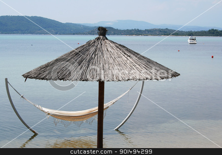 Greece. Halkidiki.  stock photo, Greece. Halkidiki. On the beach  by Morozova Oxana