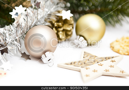 christmas background stock photo, An image of a nice christmas background by Markus Gann