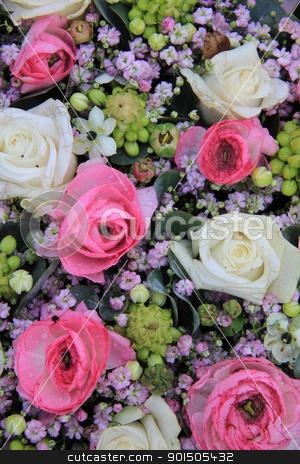 White pink and purple flower arrangement stock photo white pink and purple flower arrangement stock photo floral arrangement with roses in white mightylinksfo