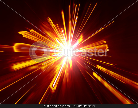 digital explosion stock photo, An image of a red digital explosion by Markus Gann