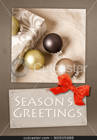 Seasons Greetings stock photo, An image of a nice Seasons Greetings postcard by Markus Gann