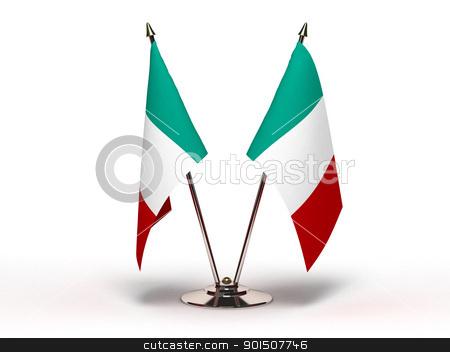 Miniature Flag of Italy stock photo, Miniature Flag of Italy by bosphorus
