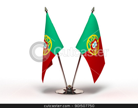Miniature Flag of Portugal stock photo, Miniature Flag of Portugal by bosphorus