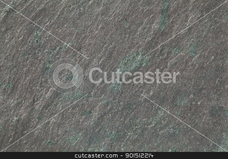 gray, green  and purple slate rock  stock photo, flat, gray, fine-grained, foliated slate rock with purple tint and green spots and veins by Marek Uliasz