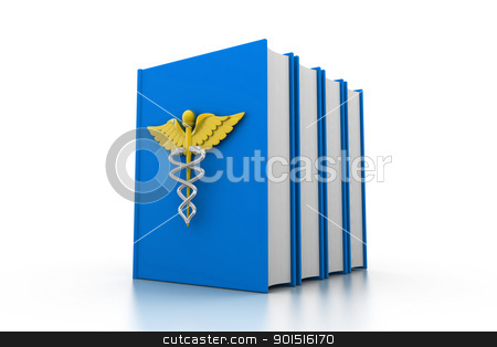 Medical book stock photo, Medical book by dileep