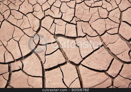 Dry soil stock photo, Dry soil texture on the ground by Vira Dobosh