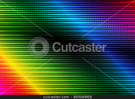Abstract Background stock vector clipart, Glowing Multicolor Abstract Party Background by JAMDesign