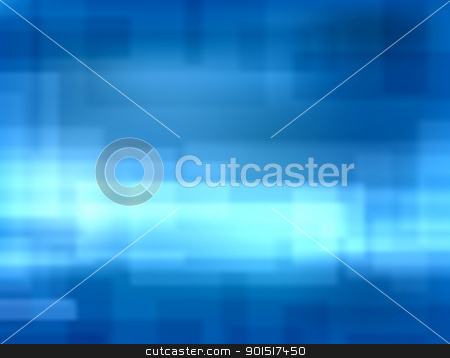 Blue blur stock vector clipart, Editable vector background blur of blue rectangles made with a gradient mesh by Robert Adrian Hillman
