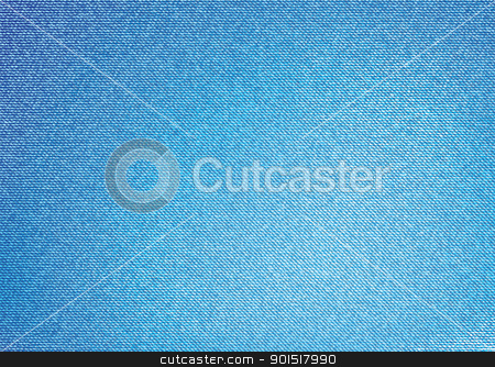 Denim background stock vector clipart, Modern denim material background with copy space by Michael Travers
