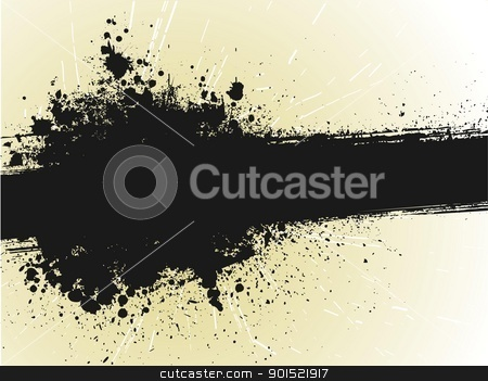 Vector illustration stock vector clipart, Vector illustration of grunge background by Myvector