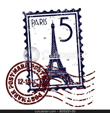Vector illustration  stock vector clipart, Vector illustration of single isolated Paris icon by Myvector