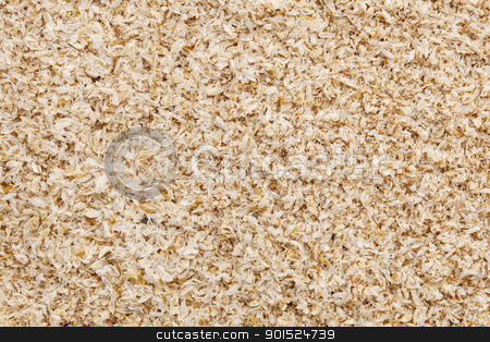 psyllium seed husks stock photo, psyllium seed husks - dietary supplement, source of soluble fiber, macro texture background by Marek Uliasz
