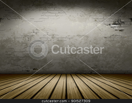 grunge cellar background stock photo, An image of a nice empty cellar for your content by Markus Gann