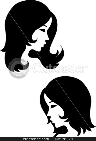 Beautiful Girl stock vector clipart, Vector Illustration Of Beautiful Girl by Surya Zaidan