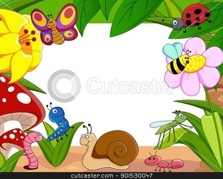 small animal cartoon  stock vector clipart, Vector Illustration Of small animal cartoon  by Surya Zaidan