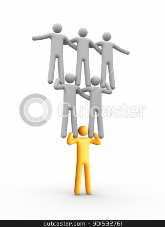 Leadership stock photo, Leadership by ayzek
