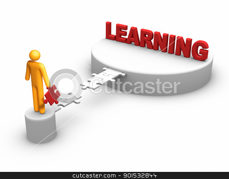 Learning Concept stock photo, Learning Concept by ayzek