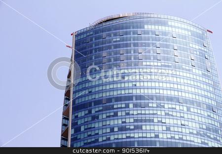 Skyscraper in Santiago de Chile stock photo, Modern Architecture in Santiago de Chile, Chile, South america. by Michael Osterrieder