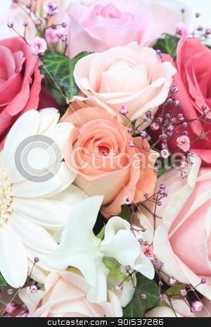 bouquet of flowers  stock photo, bouquet of flowers  by yoshiyayo