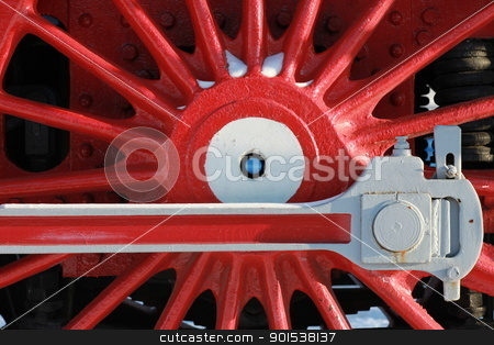 crank locomotive stock photo, The wheels of the old steam locomotive, a fragment, close-up by mrivserg