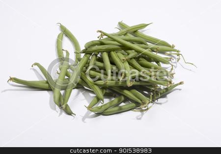 beans stock photo, bean on a white background by Rob Bouwman