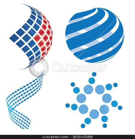 Business logo design 3D stock photo, Business logo design by Nabiilah Rahman