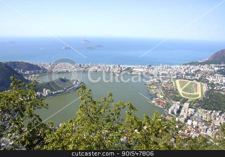 Rio de Janeiro stock photo, The city of Rio de Janeiro. View from the Corcovado. by Michael Osterrieder