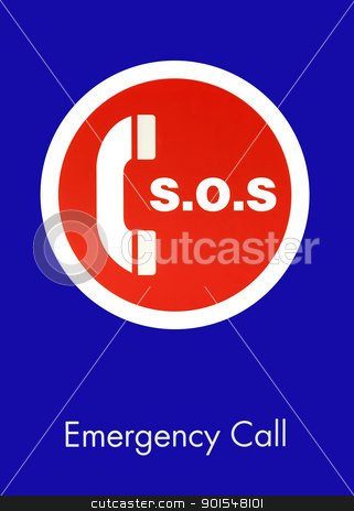S.O.S. Emergency Call Sign stock photo, S.O.S. Emergency Call Sign by pixs4u