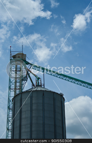 Silo in Thailand stock photo,  by Lavoview