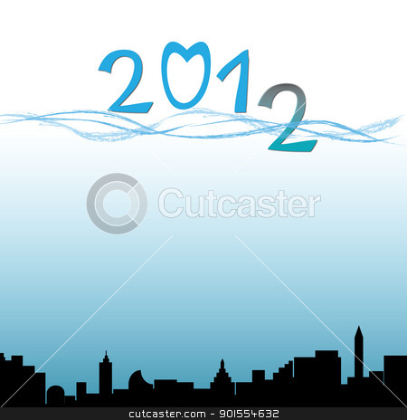 2012 flood city and town for background stock photo, 2012 flood city and town for background by jumpe