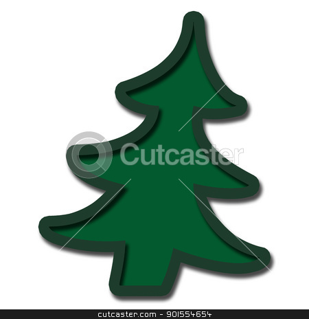 Christmas tree for object and background stock photo, Christmas tree for object and background , isolate by jumpe