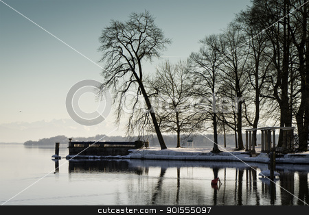 winter scenery stock photo, An image of a nice winter scenery by Markus Gann