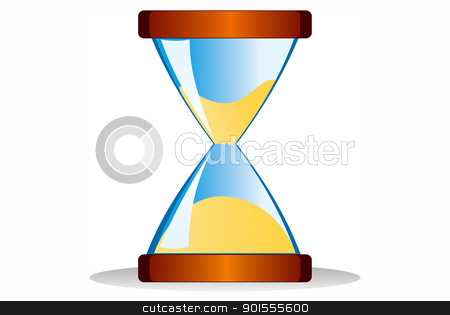 cursor clock  isolated on white background  stock photo, cursor clock  isolated on white background  by photomyheart