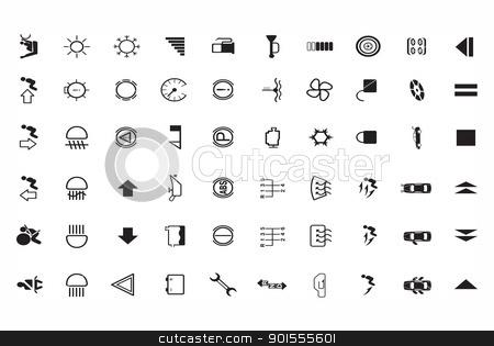 version of car parts icon set  stock photo,  version of car parts icon set  by photomyheart